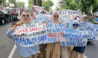 Pendukung Prabowo-Sandi di Medan Gelar Aksi Turun ke Jalan