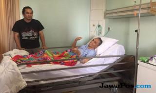 Trimoelja setelah perawatan infeksi paru-paru di Siloam Hospitals Surabaya.