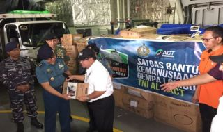 gempa lombok, bantuan gempa lombok, susu kotak untuk gempa lombok, FFI, ACT,
