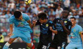 Liga 1 2018, Persela Lamongan, Persib Bandung, Persela 1-1 Persib, Laskar Joko tingkir, Maung Bandung