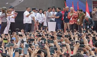 Pesan Jokowi dari Peresmian MRT Jakarta, Jangan Nyampah