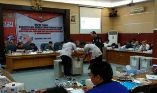 Rekapitulasi Suara Pilwalkot Cirebon