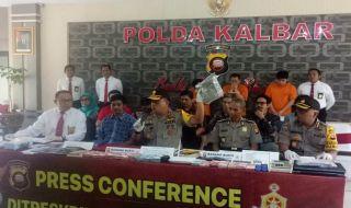 Polda Kalbar Judi, Judi Online, Bandar Judi Kalimantan