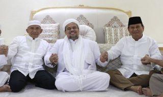 Habib Rizieq dan Prabowo