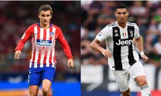 Antoine Griezmann, Cristiano Ronaldo, Atletico Madrid, Juventus, Liga Champions