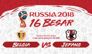 Prediksi Belgia vs Jepang: PR Berat Samurai Biru Meredam Setan Merah