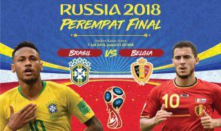 Prediksi Brasil vs Belgia: Ancaman Kejutan Menjelang Akhir Laga