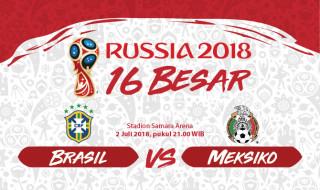 Prediksi Brasil vs Meksiko: Langkah Lanjutkan Momentum