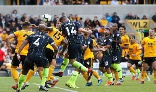 Premier league 2018-2019, liga inggris, Manchester City vs Wolverhampton Wanderers, Manchester city, Wolverhampton Wanderers
