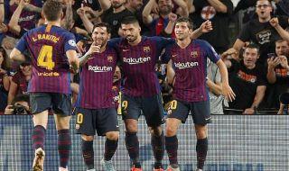 Liga Champions 2018-2019, PSV Eindhoven, Barcelona