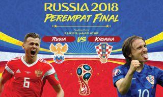 Prediksi Rusia vs Kroasia: Misi Ulangi Prestasi Lawas