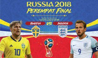 Prediksi Swedia vs Inggris: Teman Lama yang Ogah Mengalah