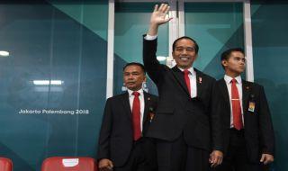 Asian Games 2018, Closing Ceremony, Jokowi, Presiden Jokowi, Joko Widodo