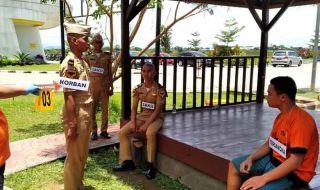 Rekonstruksi di ATKP Makassar