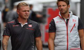 Haas, Kevin Magnussen, Romain Grosjean, Formula 1