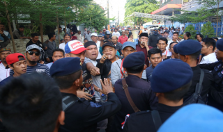 Pilwali Makassar, Calon tunggal, Kotak Kosong