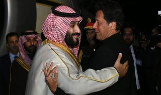mbs, putra mahkota saudi, pakistan, imran khan,