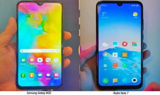 Samsung Galaxy M20, Redmi Note 7, Samsung Vs Redmi review