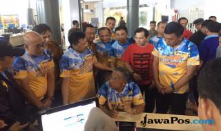Darmin Nasution di Mal Pelayanan Publik gedung Sumatera Ekspo