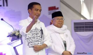 Sebulan Jelang Pilpres, Jokowi-Ma'ruf Unggul Tipis di Sumsel