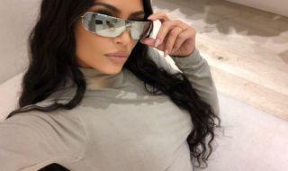 kim kardashian, gaya seleb,