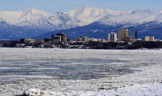 Kota Anchorage, Alaska, Amerika Serikat, gempa,
