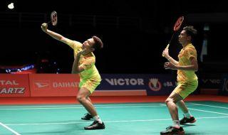 Indonesia Masters 2019, Fajar Alfian/Muhammad Rian Ardianto, bulu tangkis, Indonesia