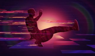 Setelah Ugal-ugalan, Pria Mabuk Breakdance di Depan Polisi