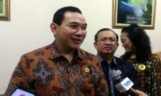Ketua Dewan Pembina Persatuan Rakyat Desa (Parade) Nusantara, Hutomo Mandala Putra atau Tommy Soeharto