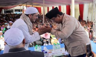 Habib Abubakar dan Prabowo