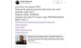 Statement Mendagri Dipelintir soal Sikap ASN terhadap Jokowi