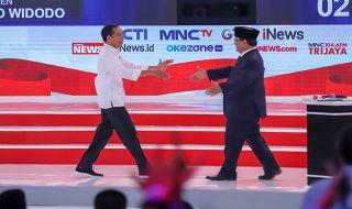 Sudah 3 Kali Debat, Jarak Suara Prabowo-Sandi Masih Jauh dari Petahana