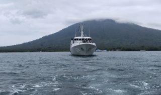 Survei Selat Sunda, KRI Spica Temukan Perubahan Kontur Kedalaman Laut