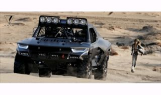 Tampang Gahar Mobil Penjelajah Batman Model Off-road 4x4