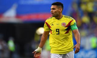 Radamel Falcao, Kolombia vs Inggris, Timnas Kolombia, Timnas Inggris, Piala Dunia 2018, Babak 16 Besar