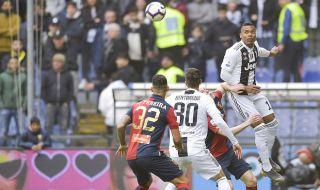 Serie A 2018-2019, Liga Italia, Juventus, Genoa 2-0 Juventus