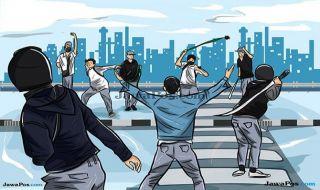 Tawuran Live di Instagram, 13 Pemuda Dicokok Polisi