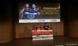 All England 2019, Hendra Setiawan/Mohammad Ahsan, bulu tangkis, Indonesia