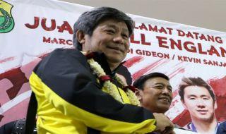 Herry Iman Pierngadi, bulu tangkis, Indonesia, Kevin Sanjaya Sukamuljo/Marcus Fernaldi Gideon