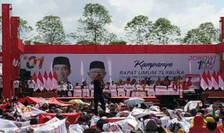 TKN Minta Pendukung Jokowi-Ma'ruf Tak Bawa Anak Saat Ikut Kampanye