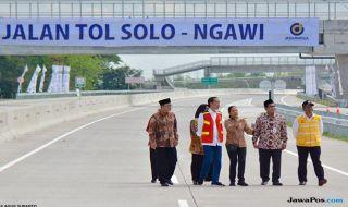 Tol Solo-Ngawi Diklaim Kurangi Kepadatan Jalan Arteri