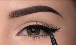 tips make up, riasan mata, cara membuat garis mata,