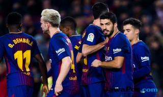 Trio CMS, Barcelona, Girona, Divisi Primera, La Liga, Luis Suarez, Lionel Messi, Philippe Coutinho,