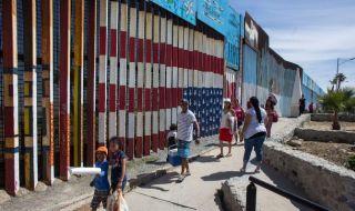 tembok, tembok perbatasan meksiko, meksiko, trump,