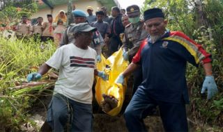 Evakuasi Korban Bunuh Diri