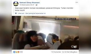 Turbulensi Etihad Airways Dijadikan Hoax Ethiopian Airlines