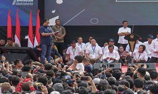 Warga Jakarta Bersorak Saat Anies Sebut Nama Basuki Tjahaja Purnama