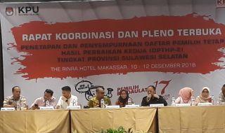 WBP Mendominasi Daftar Pemilih Tambahan di Makassar