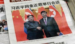 Xi Jinping, Kim Jong Un, Tiongkok Korea Utara