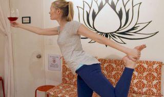 Lebih Rileks Dengan Paduan Yoga dan Wine, Benarkah?